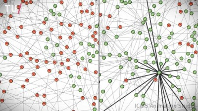 Influence in complex networks (video)